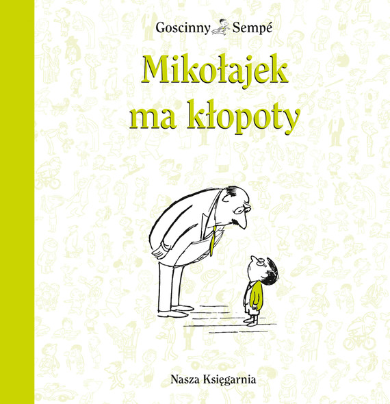 okładka Mikołajek ma kłopotyebook   epub, mobi   René Goscinny, Jean-Jacques Sempé