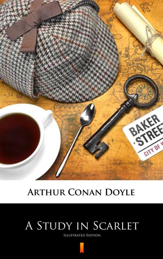 okładka A Study in Scarletebook | epub, mobi | Arthur Conan Doyle