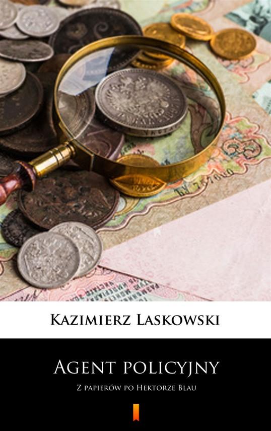 okładka Agent policyjny, Ebook | Kazimierz Laskowski