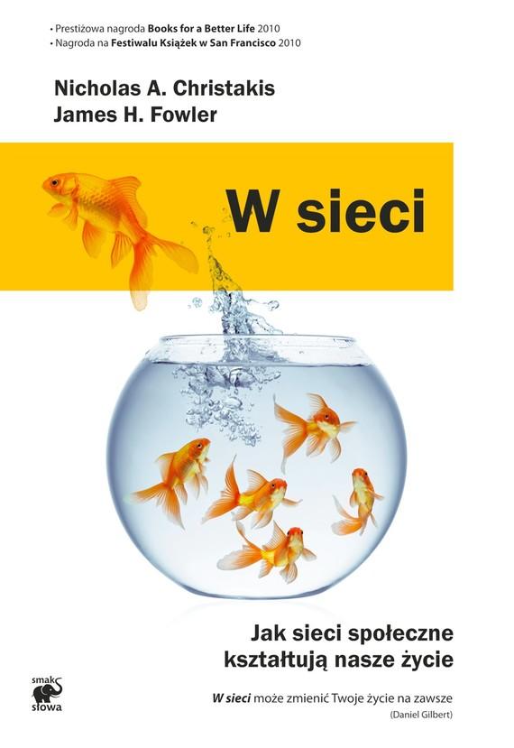 okładka W sieciebook | epub, mobi | Nicholas A.  Christakis, James H.  Fowler