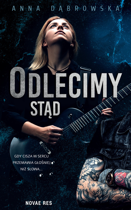 okładka Odlecimy stądebook | epub, mobi | Anna Dąbrowska