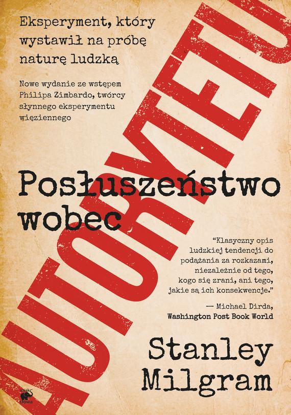 okładka Posłuszeństwo wobec autorytetu, Ebook | Stanley Milgram