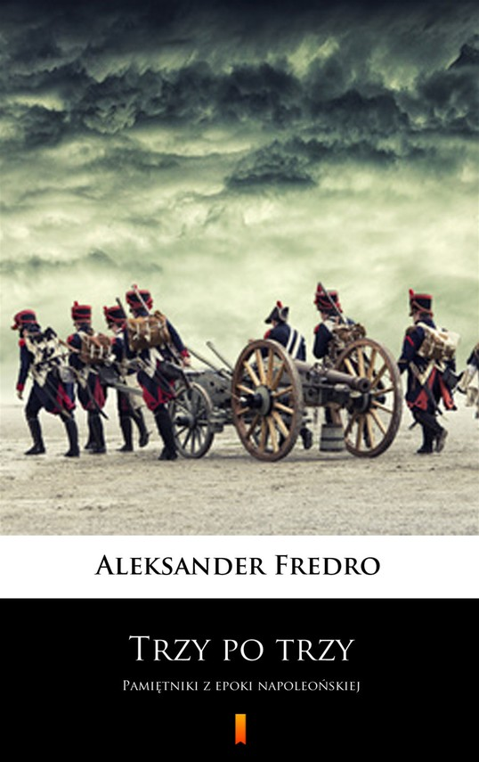 okładka Trzy po trzyebook   epub, mobi   Aleksander Fredro