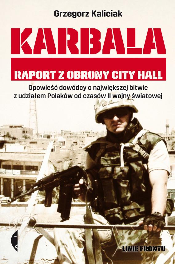 okładka Karbalaebook   epub, mobi   Grzegorz Kaliciak