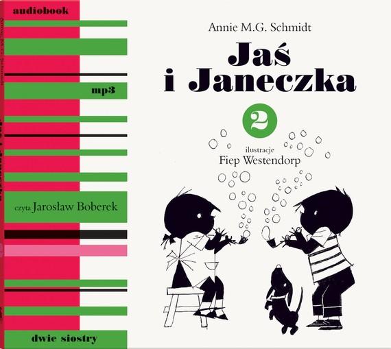 okładka Jaś i Janeczka 2 mp3audiobook | MP3 | Annie M.G. Schmidt