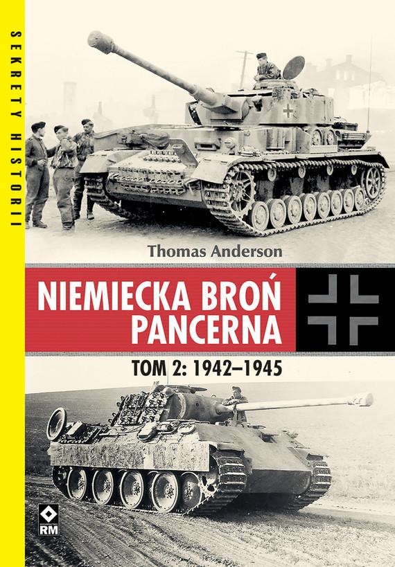 okładka Niemiecka broń pancerna, Ebook   Thomas Anderson