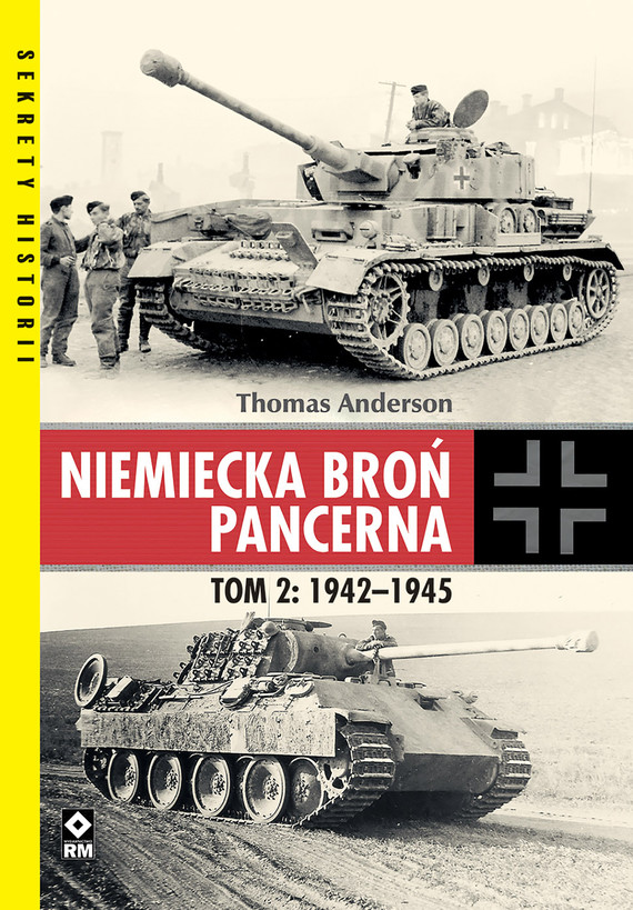 okładka Niemiecka broń pancernaebook   epub, mobi   Thomas Anderson