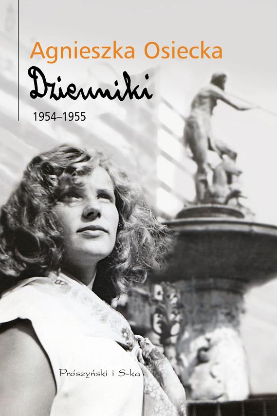 okładka Dzienniki 1954-1955, Ebook   Agnieszka Osiecka