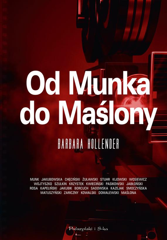 okładka Od Munka do Maślony, Ebook | Barbara Hollender