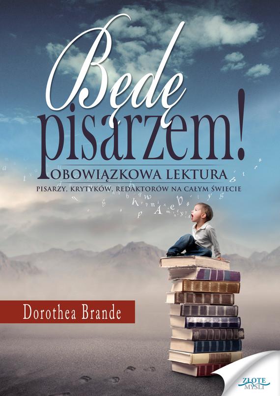 okładka Będę pisarzem, Ebook | Dorothea Brande