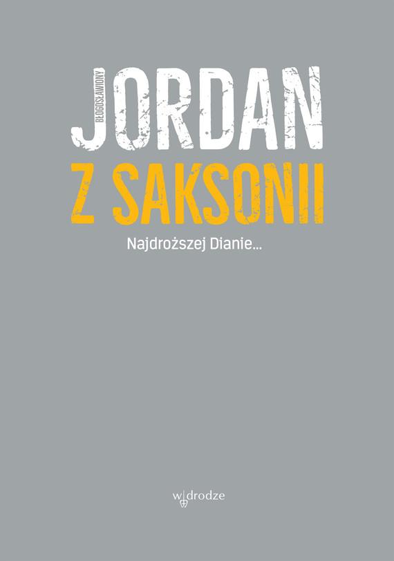 okładka Najdroższej Dianie, Ebook | Jordan z Saksonii