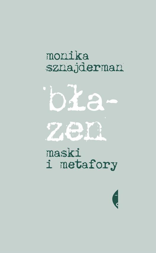 okładka Błazenebook | epub, mobi | Monika Sznajderman