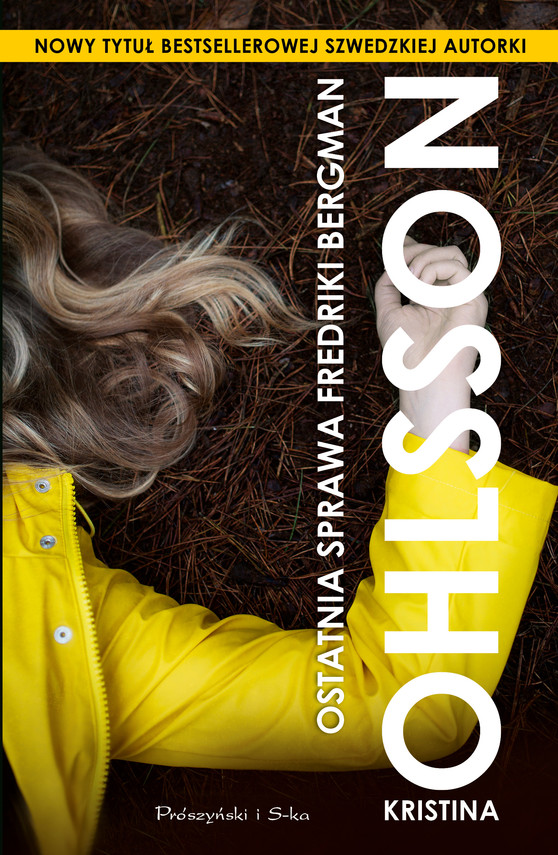 okładka Ostatnia sprawa Fredriki Bergman, Ebook | Kristina Ohlsson