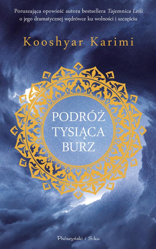 okładka Podróż tysiąca burzebook | epub, mobi | Kooshyar Karimi