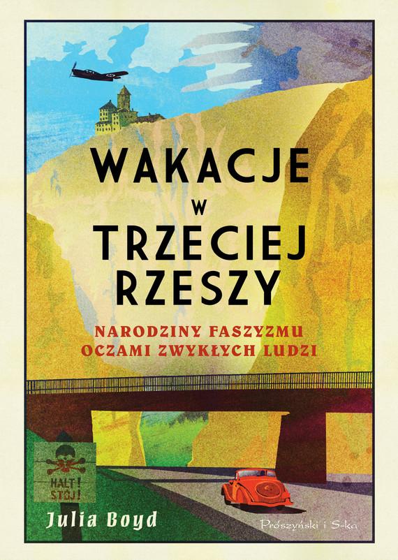 okładka Wakacje w Trzeciej Rzeszy, Ebook | Julia Boyd
