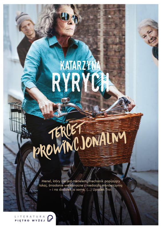 okładka Tercet prowincjonalny, Ebook | Katarzyna  Ryrych