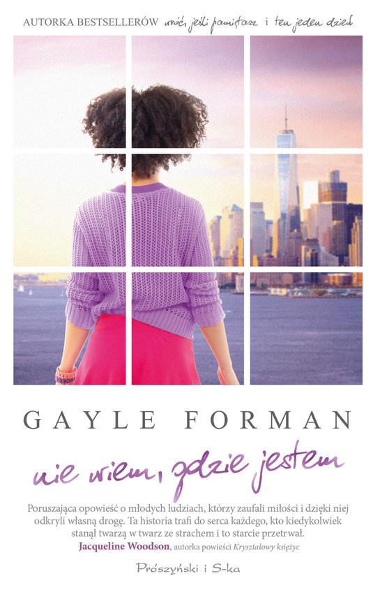 okładka Nie wiem, gdzie jestemebook | epub, mobi | Gayle Forman