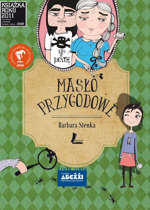 okładka Masło przygodoweebook | epub, mobi | Barbara Stenka