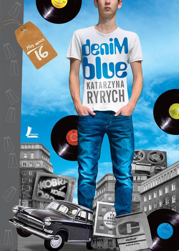 okładka Denim blueebook | epub, mobi | Katarzyna  Ryrych