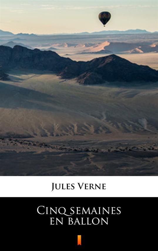 okładka Cinq semaines en ballonebook   epub, mobi   Jules Verne