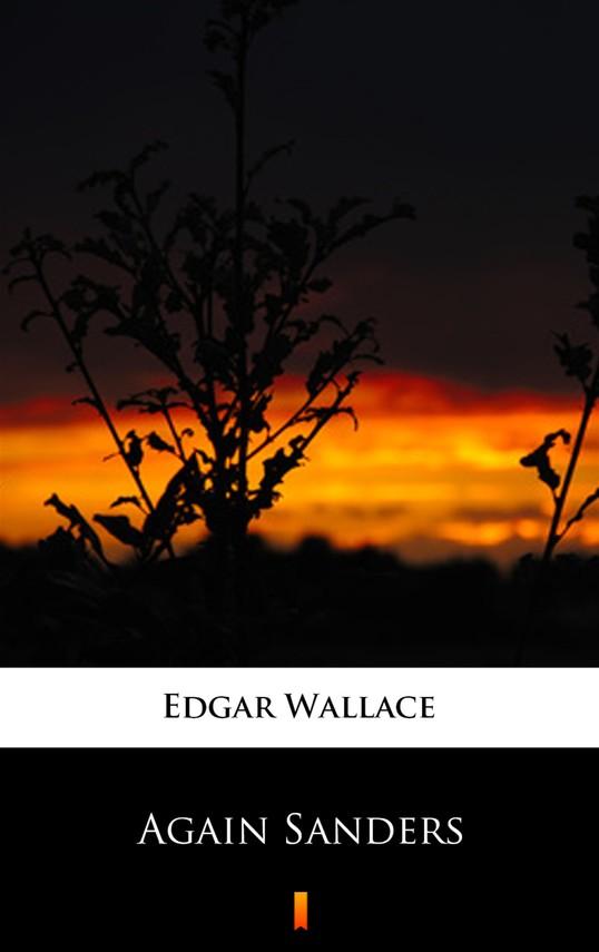 okładka Again Sandersebook | epub, mobi | Edgar Wallace