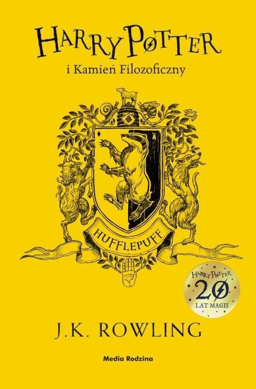 okładka Harry Potter i kamień filozoficzny, Książka   Joanne K. Rowling