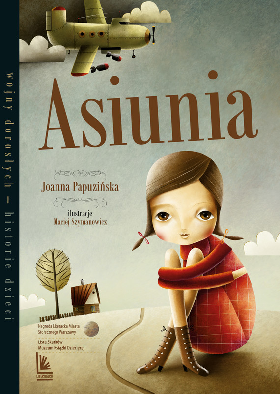 okładka Asiunia, Ebook | Joanna Papuzińska
