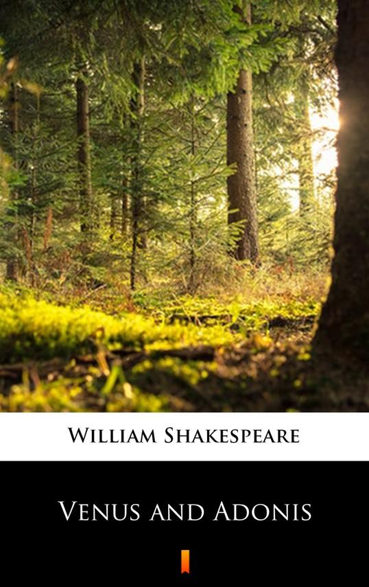okładka Venus and Adonisebook | epub, mobi | William Shakespeare