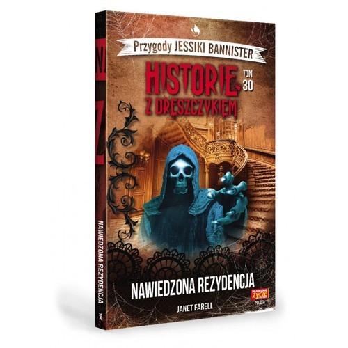 okładka Historie z dreszczykiem Przygody Jessiki Bannister Tom 30 Nawiedzona rezydencjaksiążka |  | Farell Janet