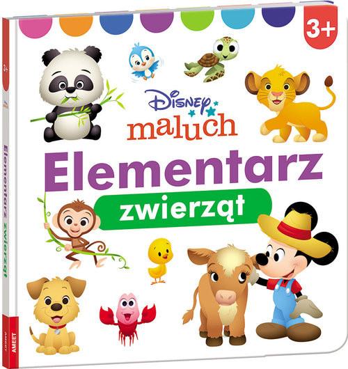 okładka Disney Maluch Elementarz zwierząt, Książka |