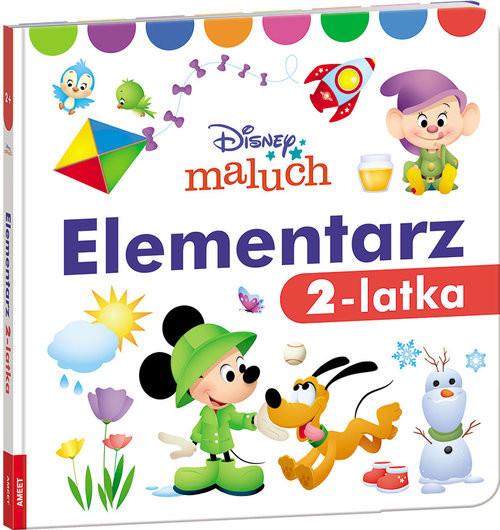 okładka Disney Maluch Elementarz 2-latka, Książka |