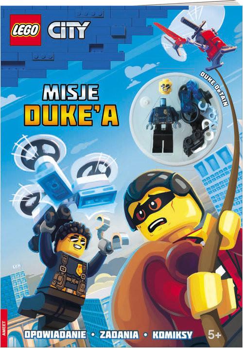 okładka LEGO City Misje Duke'a, Książka |