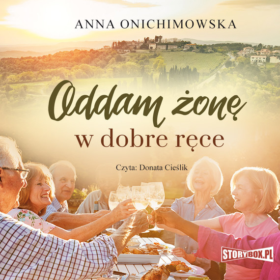 okładka Oddam żonę w dobre ręceaudiobook   MP3   Anna Onichimowska