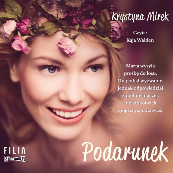 okładka Podarunekaudiobook | MP3 | Krystyna Mirek