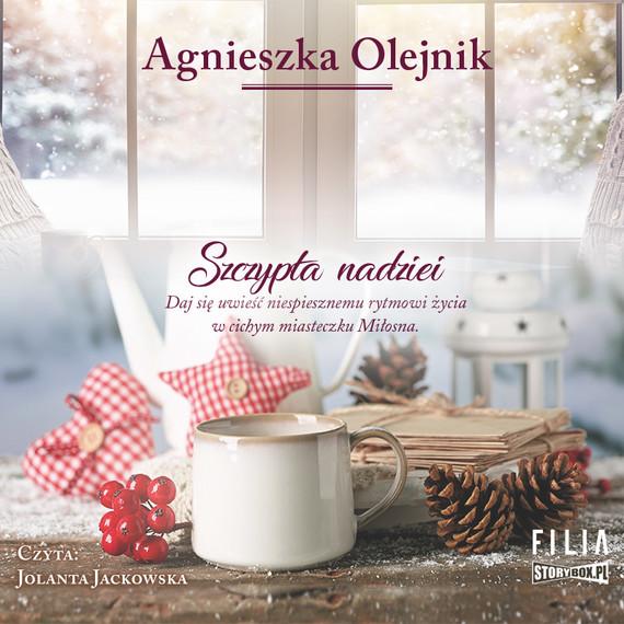 okładka Szczypta nadziei, Audiobook   Agnieszka Olejnik
