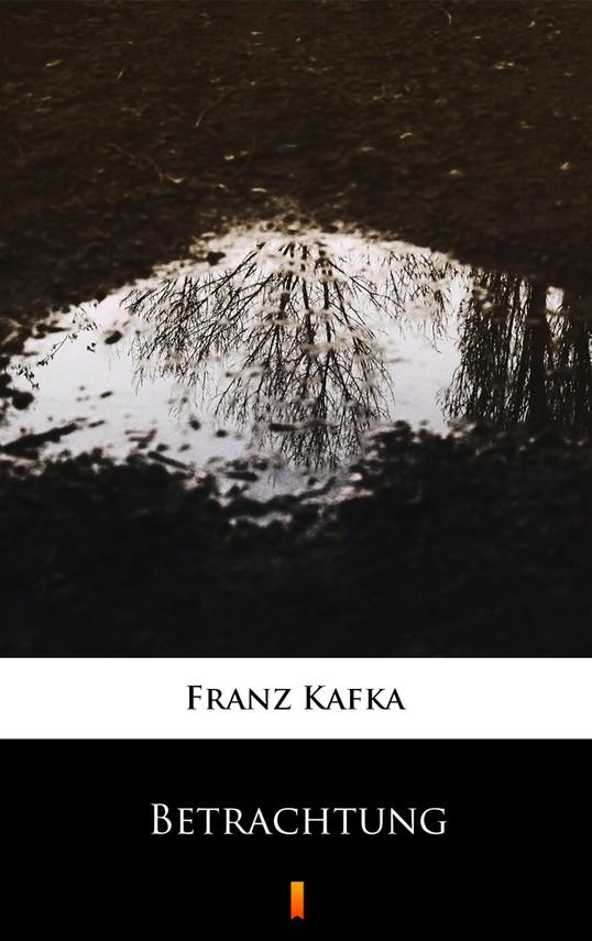 okładka Betrachtungebook   epub, mobi   Franz Kafka