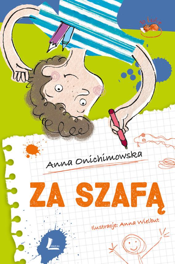 okładka Za szafą, Ebook | Anna Onichimowska