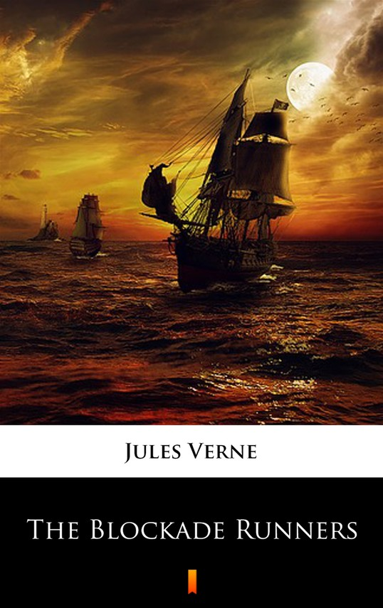 okładka The Blockade Runnersebook   epub, mobi   Jules Verne