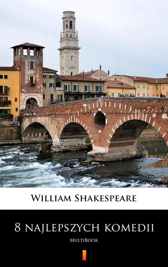 okładka 8 najlepszych komediiebook | epub, mobi | William Shakespeare