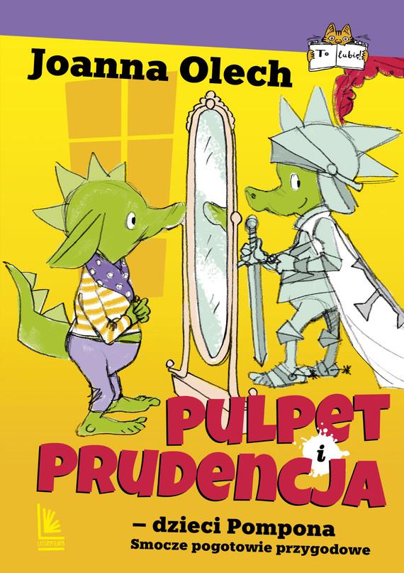 okładka Pulpet i Prudencja dzieci Pomponaebook | epub, mobi | Joanna Olech