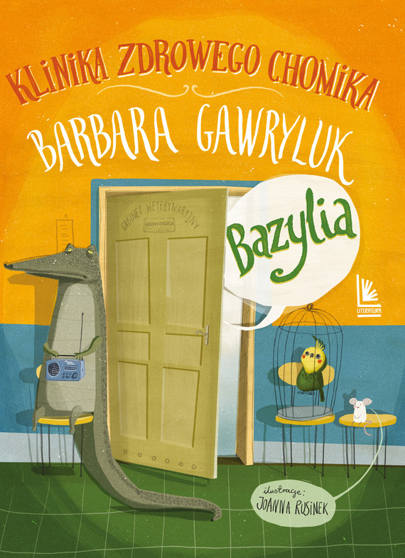 okładka Bazylia : Klinika Zdrowego Chomika, Ebook | Barbara  Gawryluk