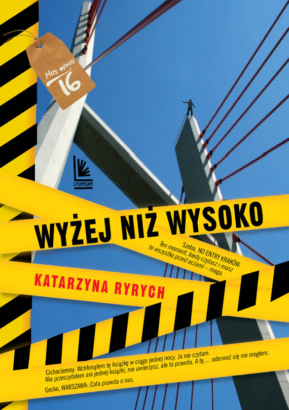 okładka Wyżej niż wysoko, Ebook | Katarzyna  Ryrych