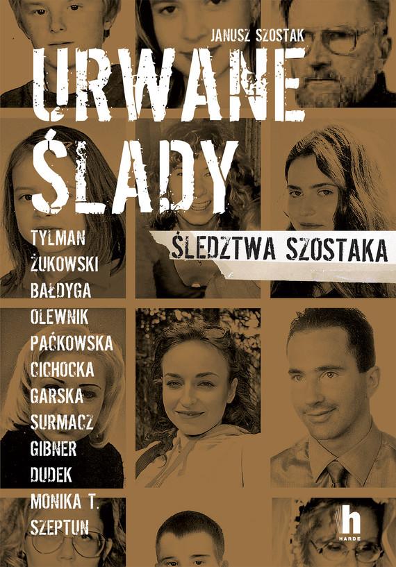 okładka Urwane śladyebook   epub, mobi   Janusz Szostak