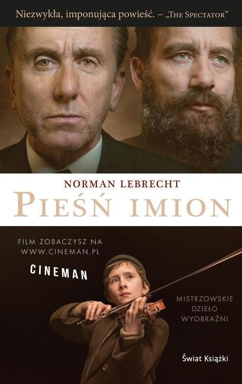 okładka Pieśń imion, Książka | Norman Lebrecht
