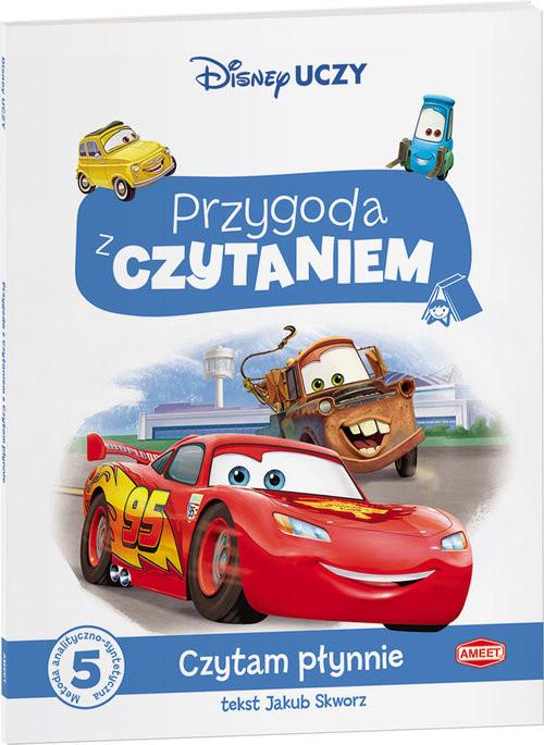 okładka Disney Uczy. Auta. Przygoda z czytaniem Czytam płynnie PCA-9302, Książka | Jakub Skworz