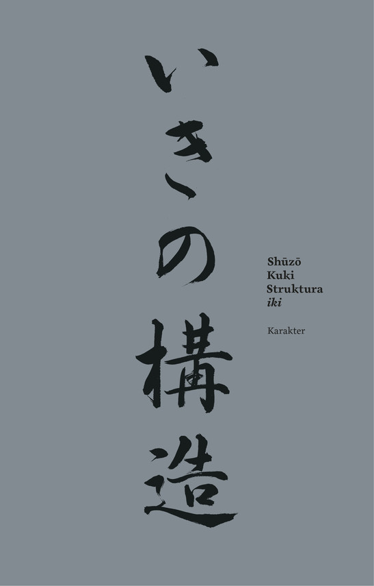 okładka Struktura ikiebook | epub, mobi | Shuzo Kuki