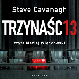 okładka Trzynaścieaudiobook | MP3 | Steve Cavanagh