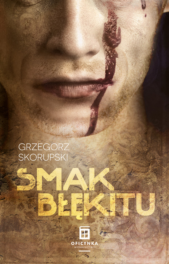 okładka Smak błękitu, Ebook | Skorupski Grzegorz