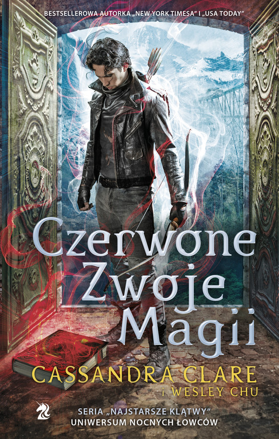 okładka Czerwone Zwoje Magiiebook | epub, mobi | Cassandra Clare, Wesley Chu