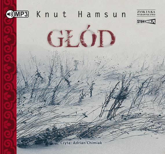 okładka Głódaudiobook   MP3   Knut Hamsun